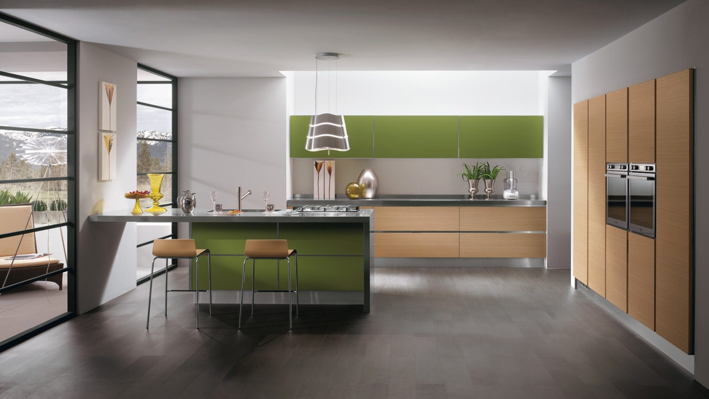 Velk obrazov inspirace modern ch kuchyn - La cucina verde ...