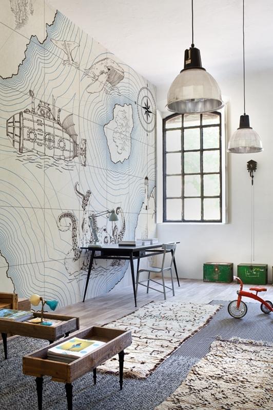 10 fantastick ch tapet kter dodaj interi ru atmosf ru. Black Bedroom Furniture Sets. Home Design Ideas
