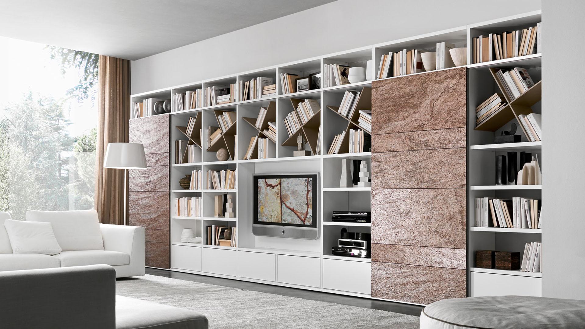 Pari dispari b l sestava for Librerie di design famosi