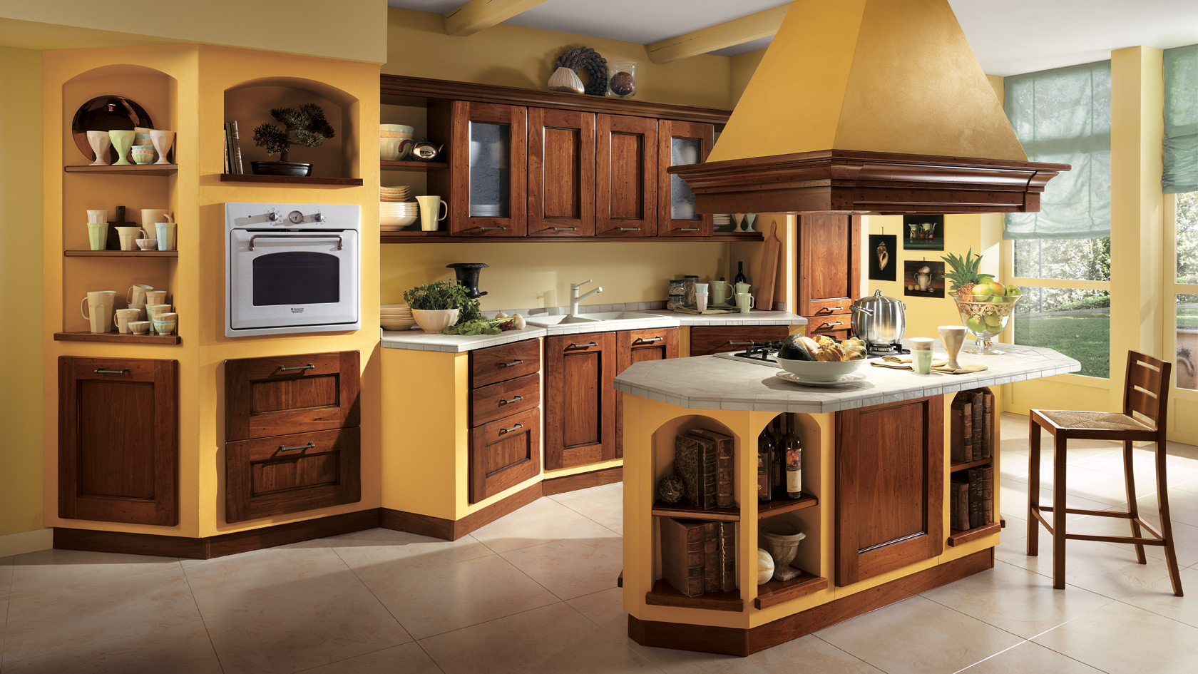 Am lie kuchy sk linka a ostr vek for Casa rustica classica