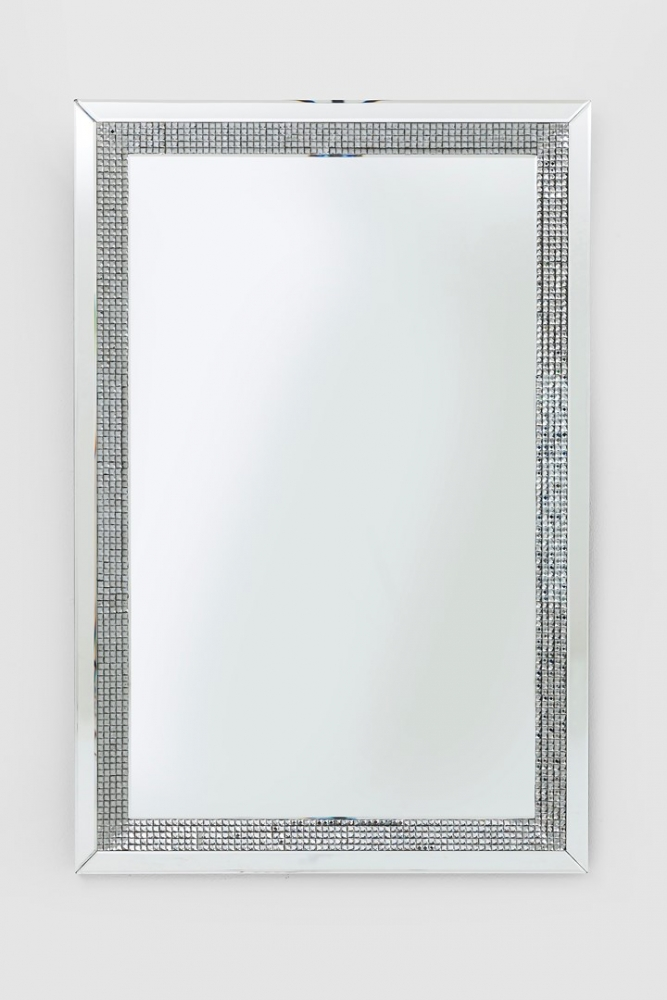 Zrcadlo Frame Diamonds 120x80cm