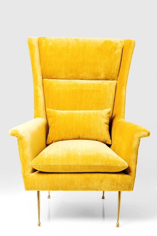 Arm Chair Vegas Forever Yellow