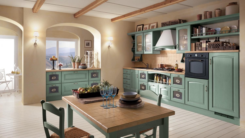 Madeleine kuchy sv tle zelen for Gabinetes de cocina modernos 2016