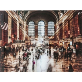 Obraz na skle Grand Central Station 90x120cm