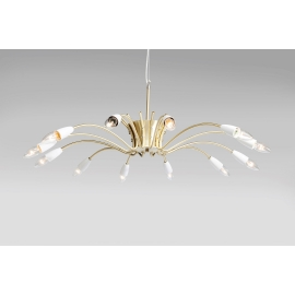 Pendant Lamp Spider Brass