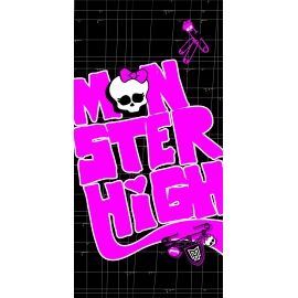CTI Osuška Monster High Black Velvet