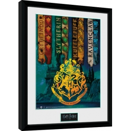 Posters Obraz na zeď - Harry Potter - House Flags
