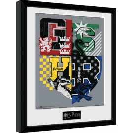 Posters Obraz na zeď - Harry Potter - Letter Crests