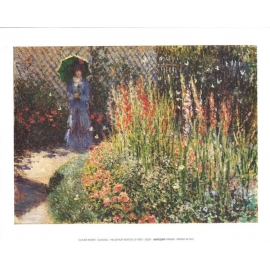 Posters Reprodukce Claude Monet - Gladioly - Mečíky , (40 x 30 cm)