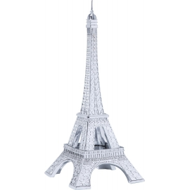Dekorativní figurka Eiffel Tower Chrome