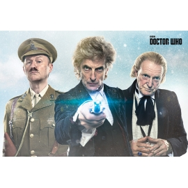 Posters Plakát, Obraz - Doctor Who - Twice Upon A Time, (91,5 x 61 cm)