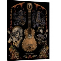 Posters Obraz na plátně Coco - Day of the Dead, (60 x 80 cm)