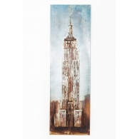 Picture Iron State Building 180x56cm