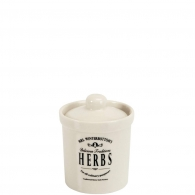 "MRS. WINTERBOTTOM´S Dóza ""Herbs"" 8 cm"