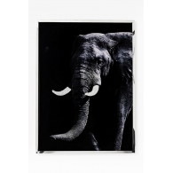 Wall Decoration Elephant Face 73x97cm