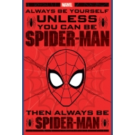 Posters Plakát, Obraz - Spider-Man - Always Be Yourself, (61 x 91,5 cm)