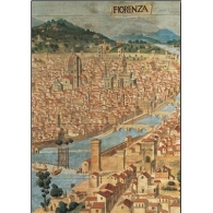 Posters Reprodukce Firenze - Pohled na Florencii , (35 x 50 cm)