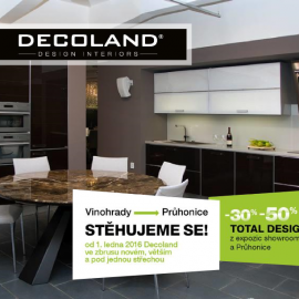 Výprodej u Decoland - Total Design Sale